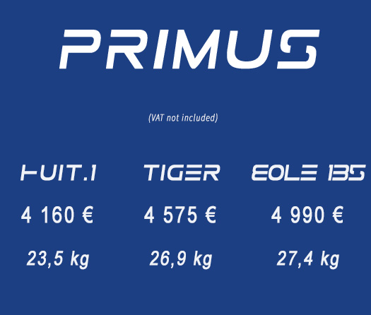 Primus price list