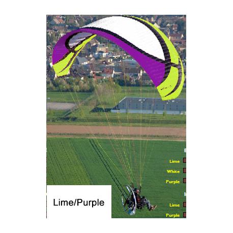 FLEXWAY purple/lime